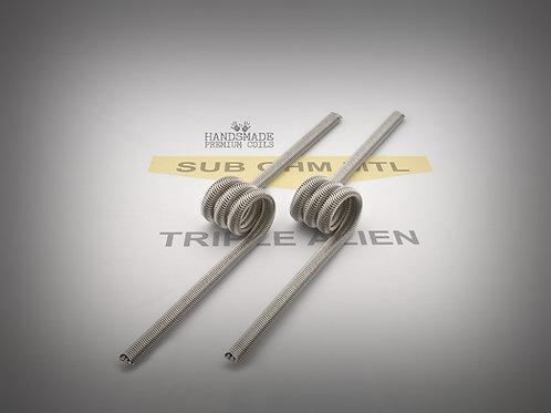 Handmade alien coils - Triple Alien MTL