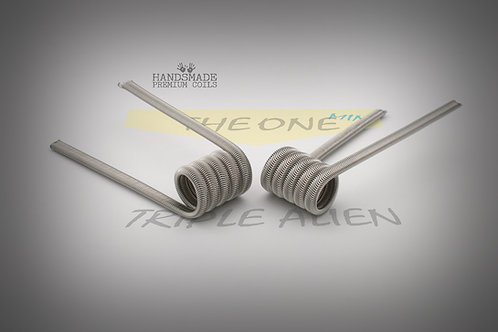 Handmade alien coils - The One Mini Triple Alien