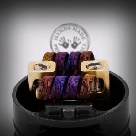 Handmade alien coils