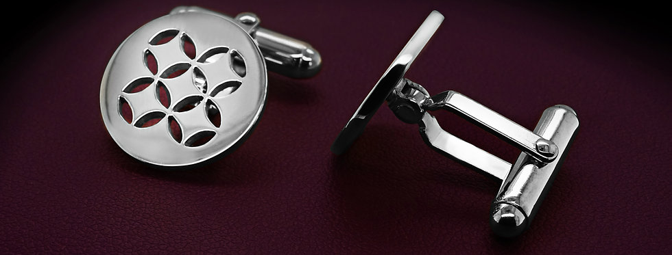 C&D Sterling Silver Cuff Links