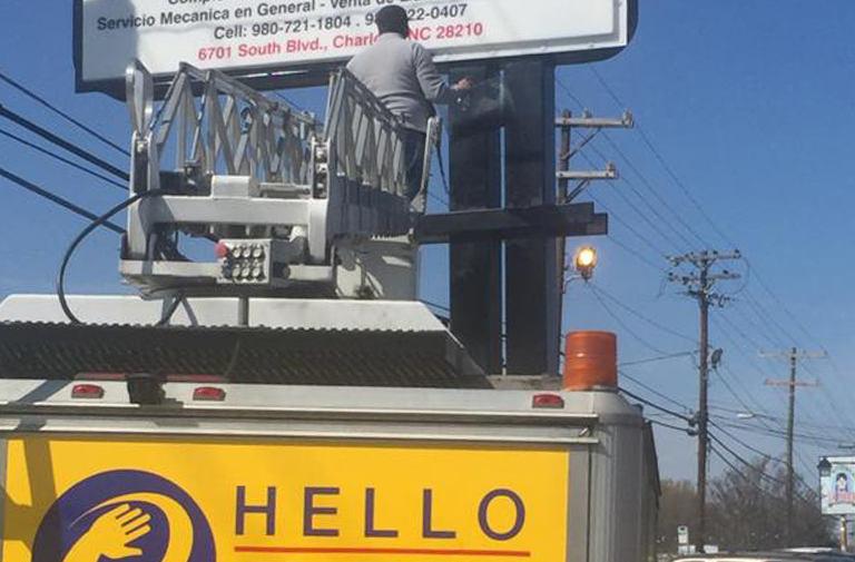 Klever-auto-repaor-light-box-installatio