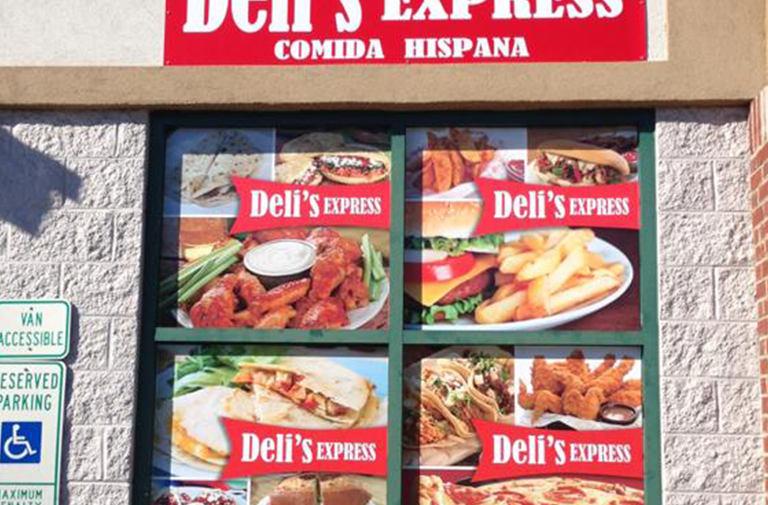 Deli's-express-window-decorations-hello-