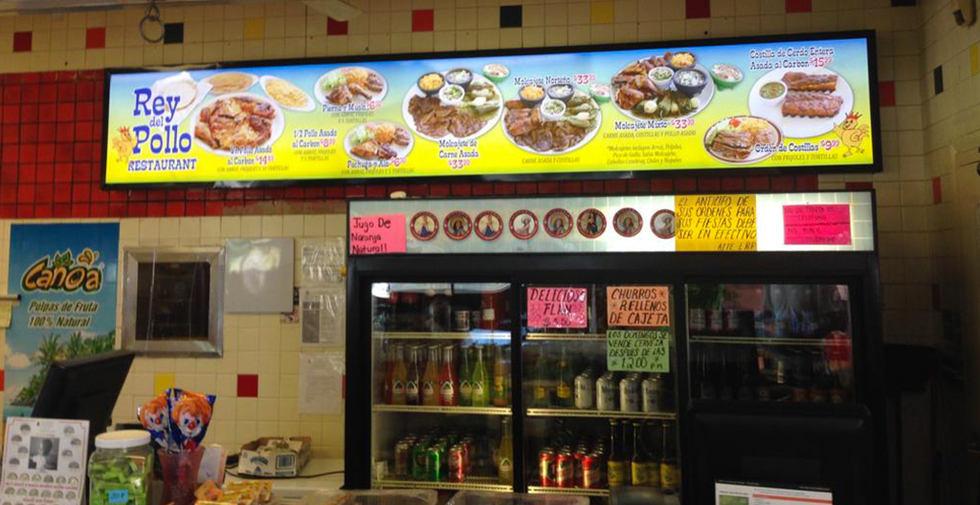 rey-del-pollo-light-box-menu-hello-signs