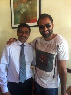 Bollywood actor Abey Deol