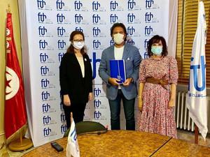 La FTH accueille l'association Edhiafa