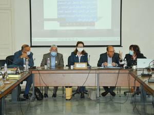 لجنة المالية تستمع إلى ممثلي الجامعة التونسية للنزل حول مشروع قانون المالية لسنة 2021.