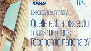 Étude KPMG |Quelle est la place du tourisme dans l'économie nationale ?
