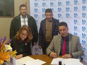 Signature d'une convention de partenariat entre la FTH et l'AFMT