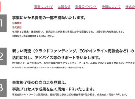 クラウドファンディング活用のための助成金「JAPANブランド特別枠提出完了!