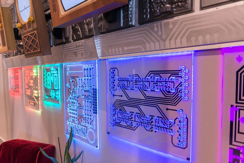 Illuminated Circuitry