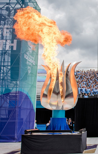 Special Olympics Torch