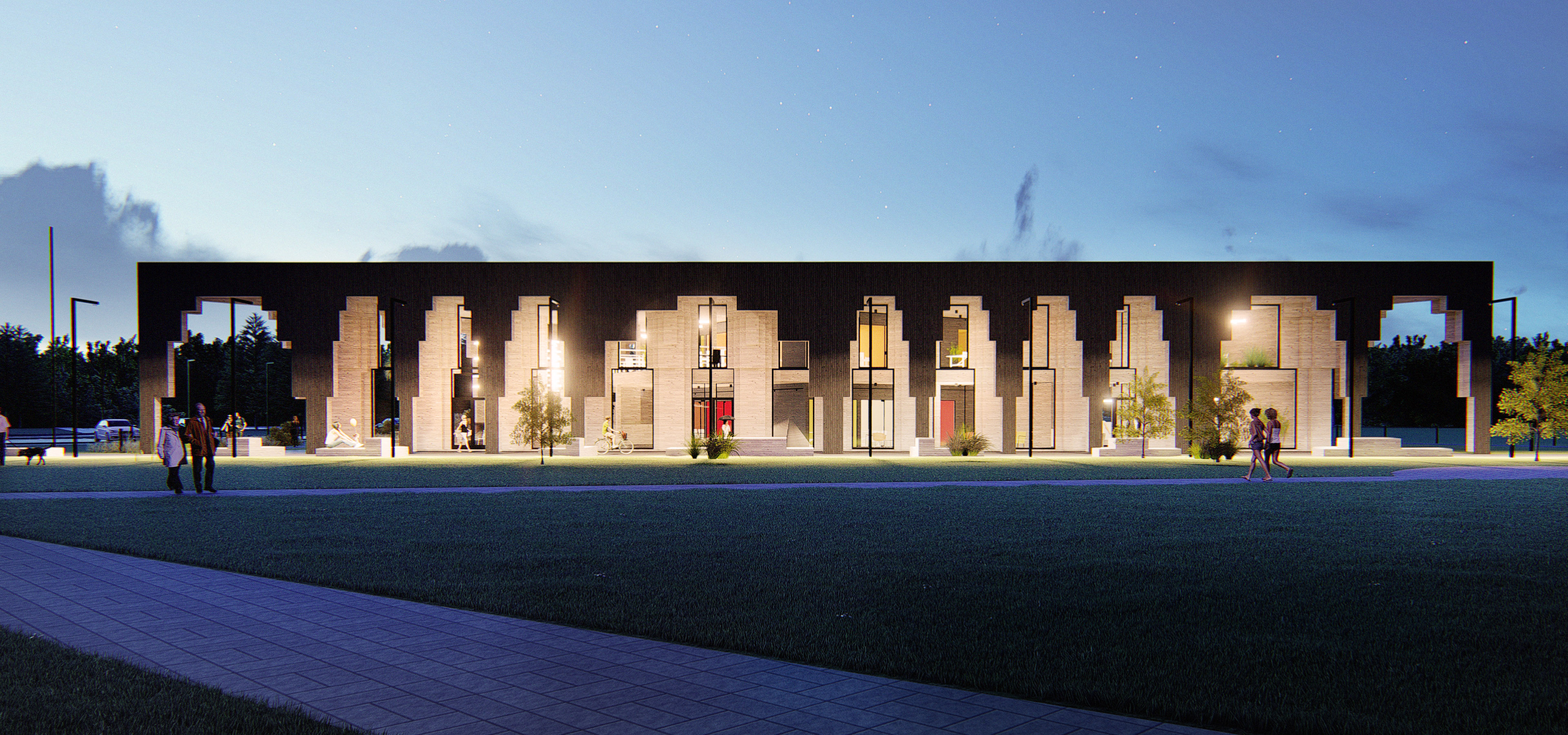2017 Parish center in Saue