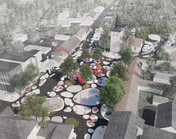 2020 Paide Central Square