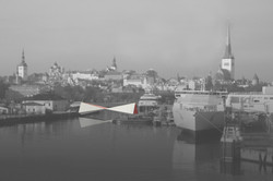 2017 Port of Tallinn pedestrian bridge