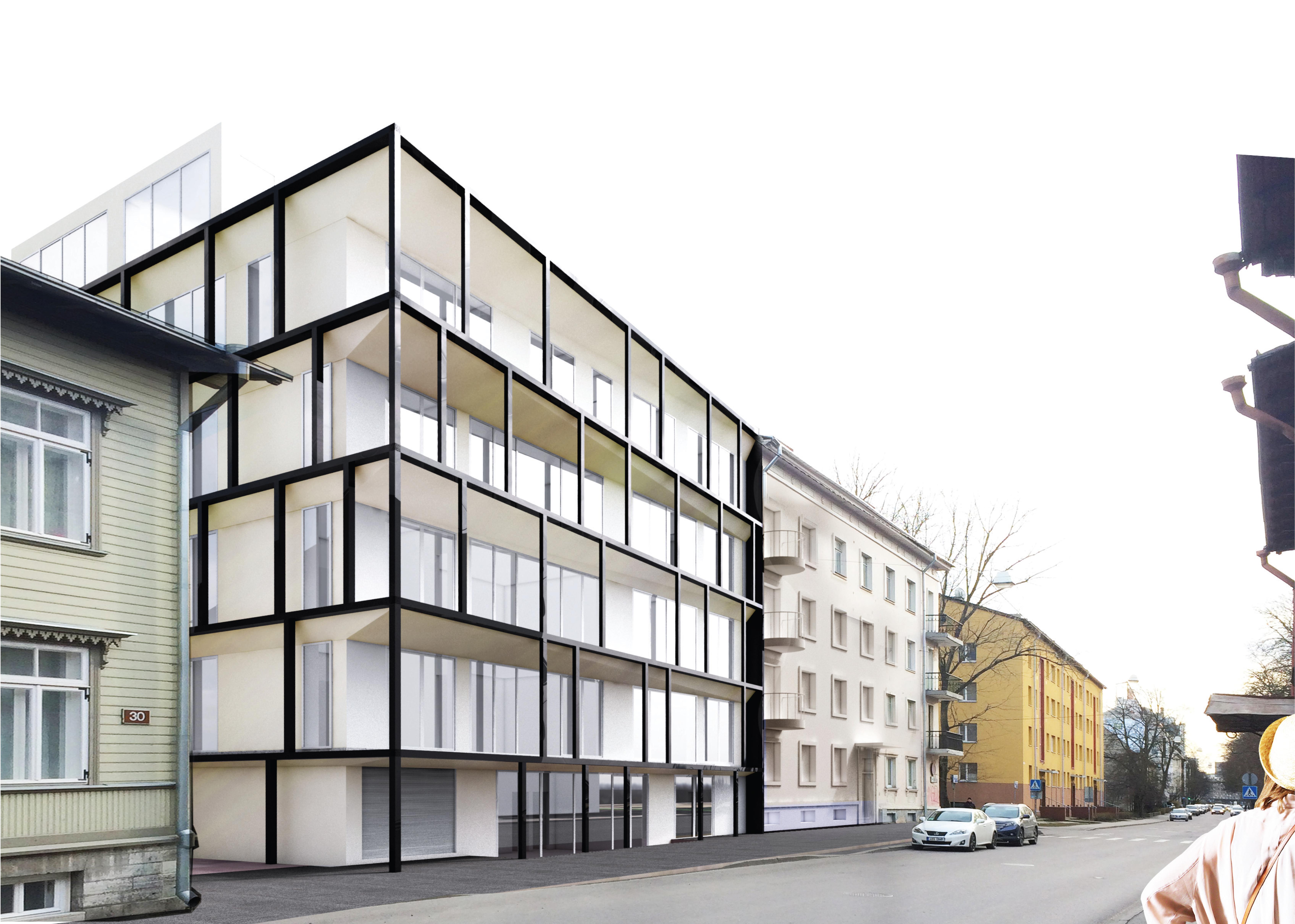 2016 Apartment building on Kentmanni st.
