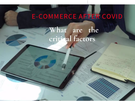 Post-COVID e-commerce business drivers for small businesses.