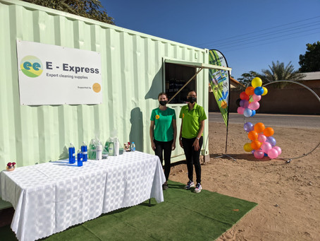 E-Express Opens in Mariental