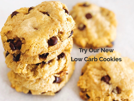 !!!NEW LOW CARB COOKIES!!! - CHOCOLATE CHIP