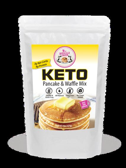 Keto & Paleo Pancake & Waffle Mix - 10.5 Oz