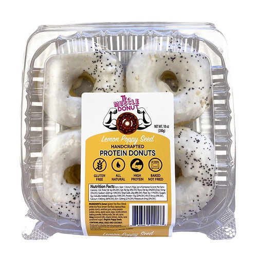 Lemon Poppyseed - 4 Pack