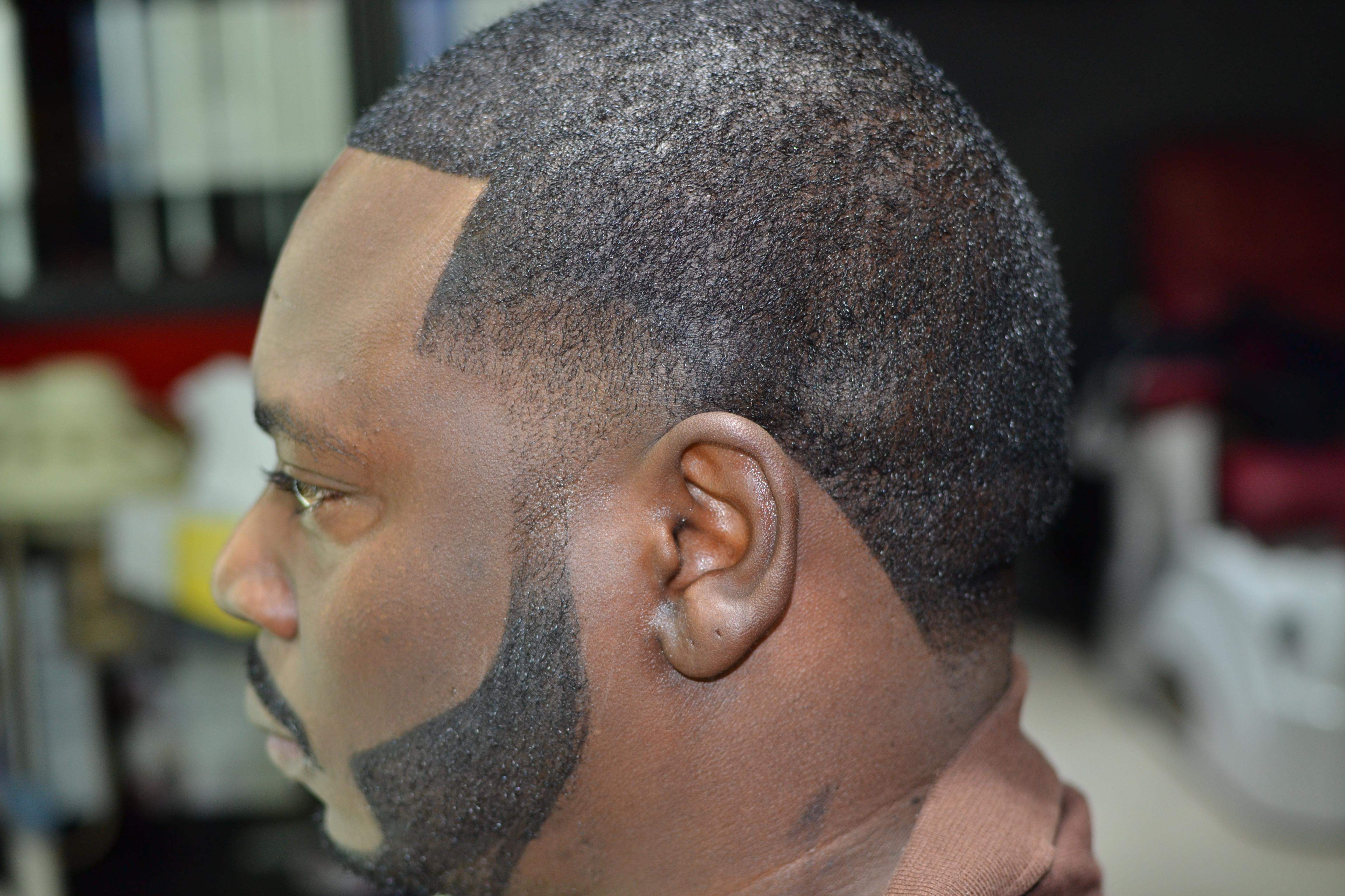 Hair cut beard and color $150