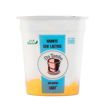Iogurte Damasco Sem Lactose