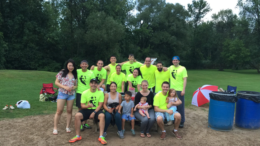 Our Residency Kickball Team!
