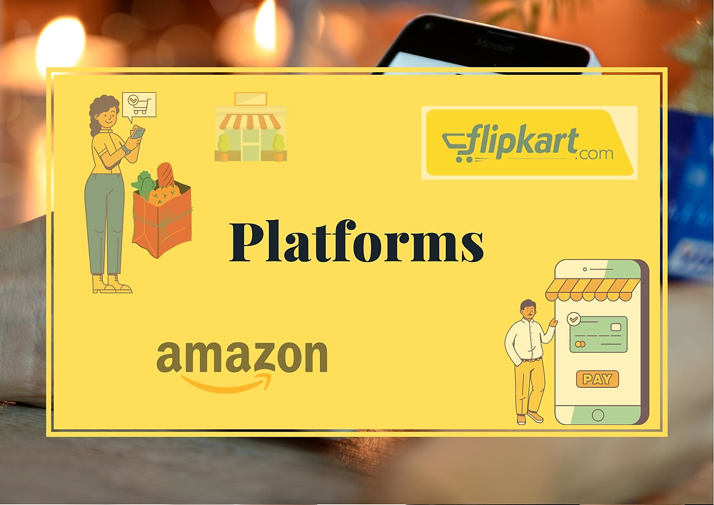 Choose your platform to sell grocery online
