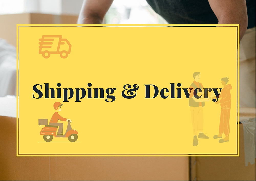 Shipping and delivery system for an online grocery store