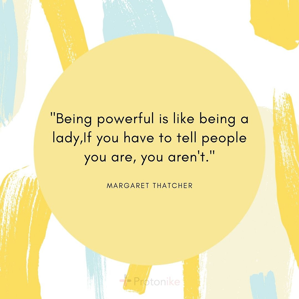 Inspirational Business Quote by Margaret Thatcher