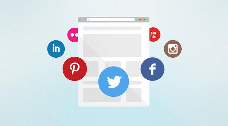 Social media integration, e-commerce website, social media marketing