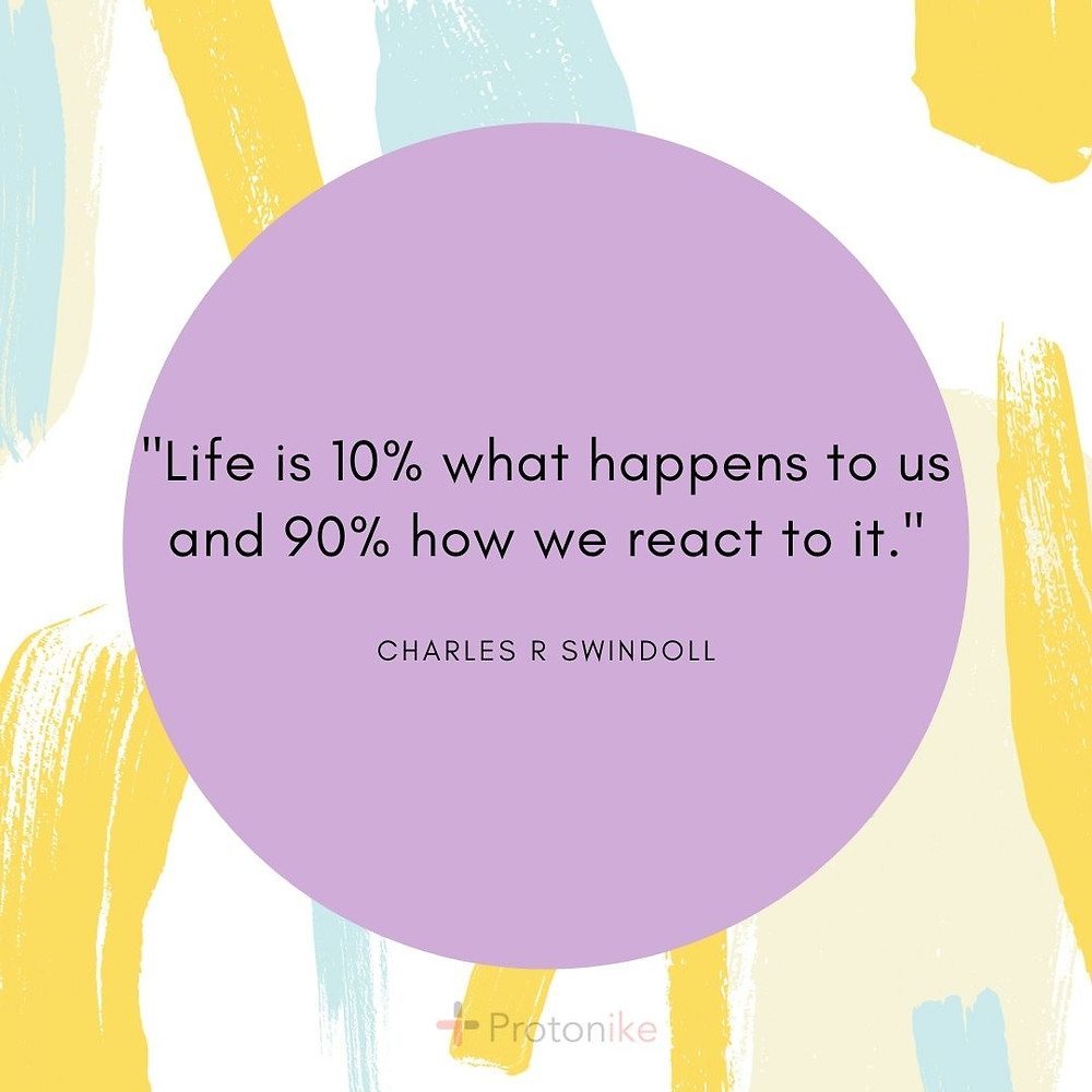 Inspirational Business Quote  from  Charles R Swindoll