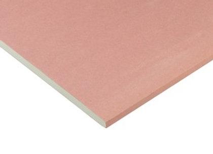 Chapa de Drywall RF (Resistente ao Fogo)  1,80x1,20m Rosa