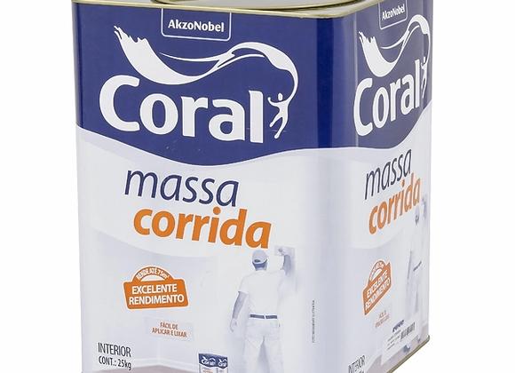 Massa Corrida Coral 25Kg