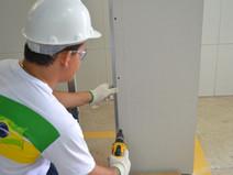 Drywall é um dos principais aliados da construção sustentável