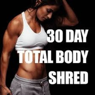 TOTAL BODY SHRED 2020