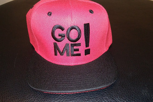GO ME! EMBROIDERY - RED & BLACK