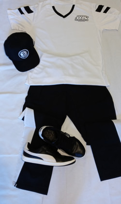 NEW BLACK -WHITE OUTFIT