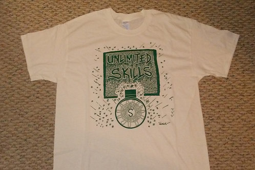 WHITE & GREEN TULANE SHIRT