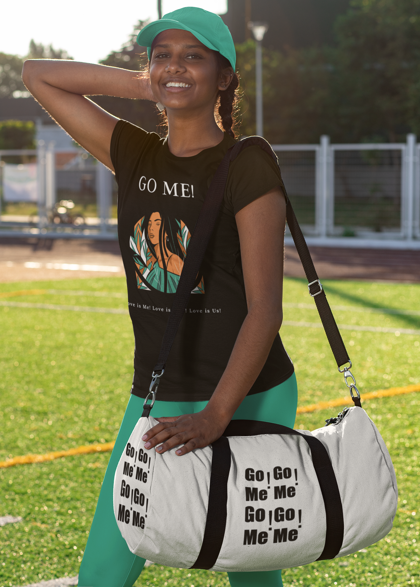 t-shirt-mockup-featuring-a-sporty-woman-