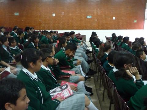 Visita a escuela Moisés Saenz