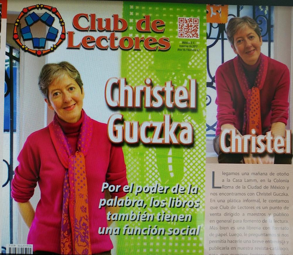 Gracias a Club de Lectores por la portada de esta revista y a Virginia Krasniansky por su labor incansable y tan cálida conversación
