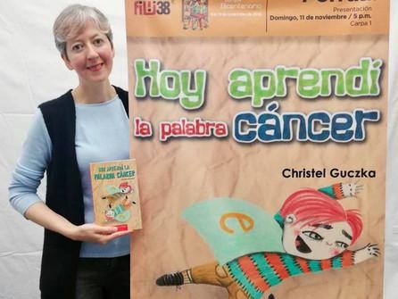 """Presentación """"Hoy aprendí la palabra cáncer"""" en FILIJ."""