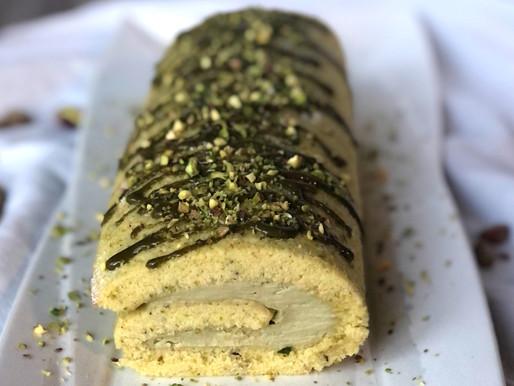 Rotolo al pistacchio e mascarpone: una golosità irresistibile