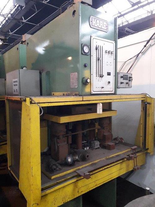 P.J. Hare Type 40HP Hydraulic Press