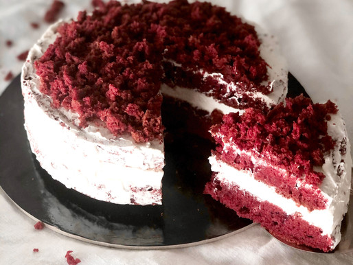 Torta Red Velvet ed è subito San Valentino