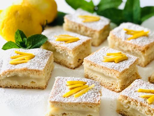 Tortine di frolla all'olio con crema di limone