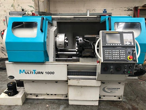 Colchester MultiTurn 1000 Fanuc OiTC CNC Lathe