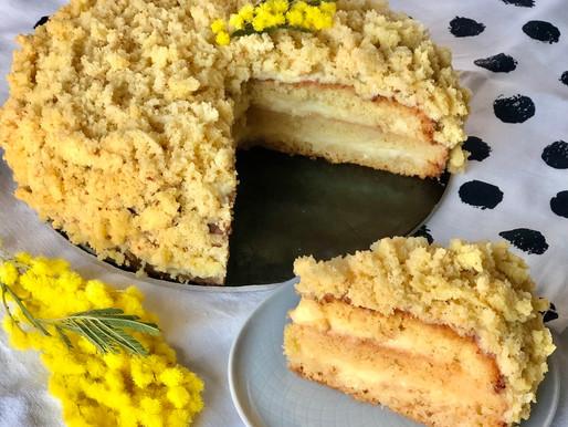 Torta mimosa con crema al limoncello
