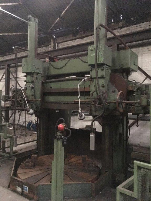 Richards 6` Double Column Vertical Boring and Turning Machine